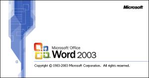 Numerar páginas Word 2003